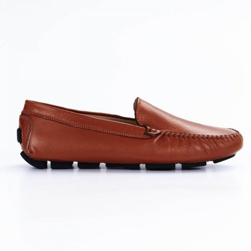 Classic Vitello Tan Loafers