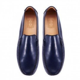Mens Classic Denim Leather Loafer Final pair
