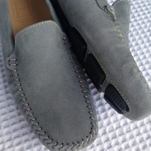 k. Classic Loafer grey suede 2
