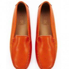 Classic Burnt Orange Leather