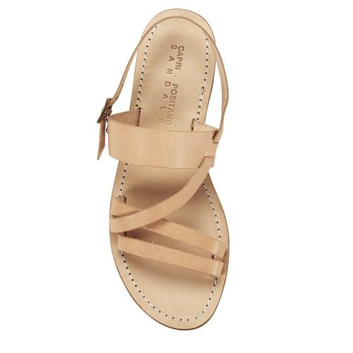 Roman Womens SandalMade Raw Light ItalyArchives Tan Leather In 0O8Pnwk