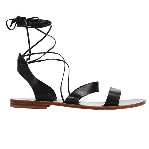 Itama Black sandal 2