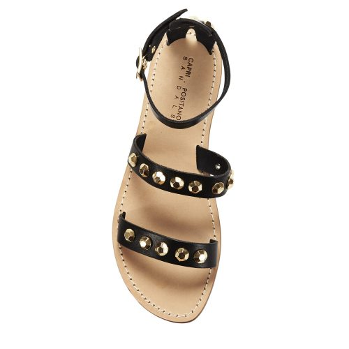 FURORE BLACK GOLD STUDDED WEB