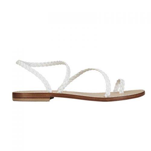 Livia white braided sandal 2. capri positano sandals italian sandals jpg