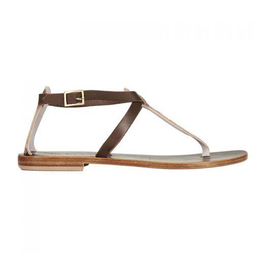 Minerva testa di moro and pthon sandal side 2 capri positano sandals italian sandals